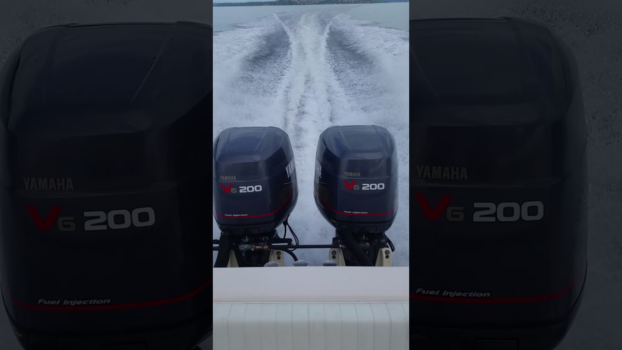 99 Yamaha Saltwater Series II OX66 200 HP outboards