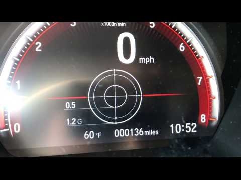 2017 Honda Civic Si G Force meter, Shift Lights, Lap Timer