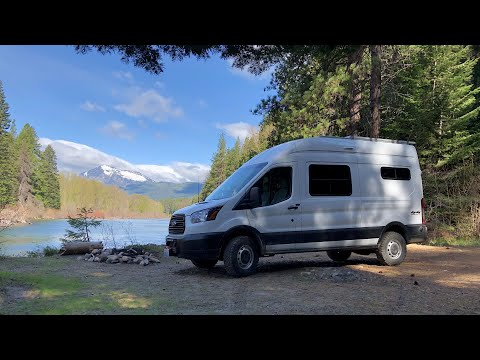 Quadvan 4wd conversion on 2019 Ford Transit