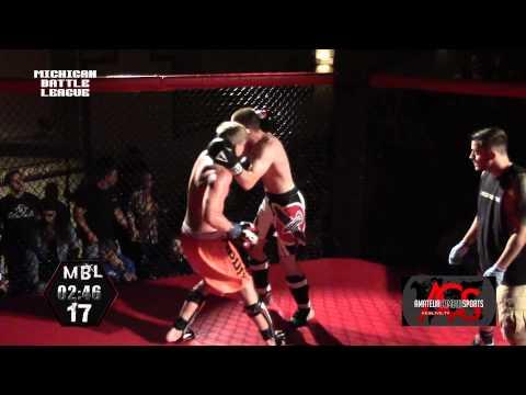 """Michigan"" Battle League 17 MMA Tim Sickels vs Michael Nuyen"
