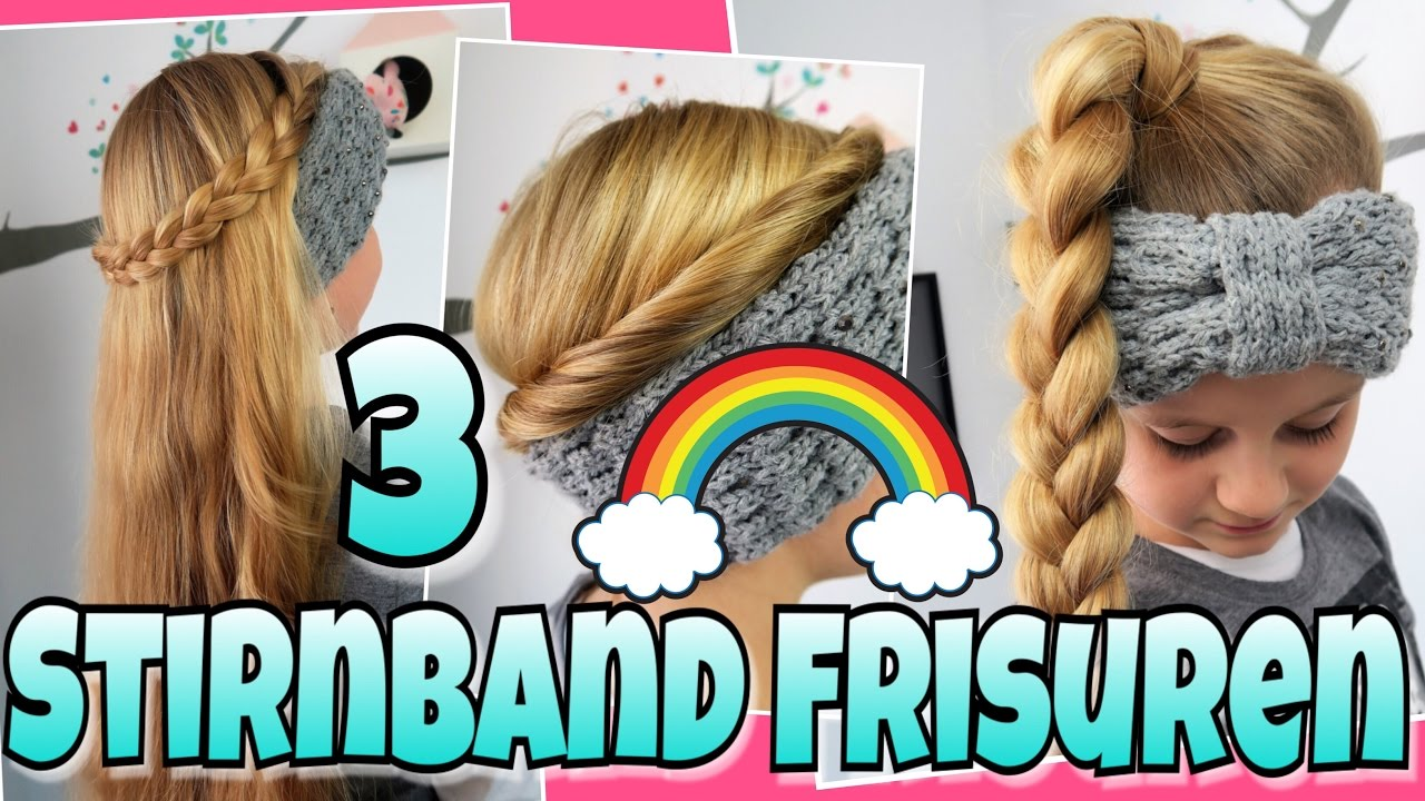 3 STIRNBAND Frisuren🌈coole Mädchen Zöpfe&Frisuren YouTube