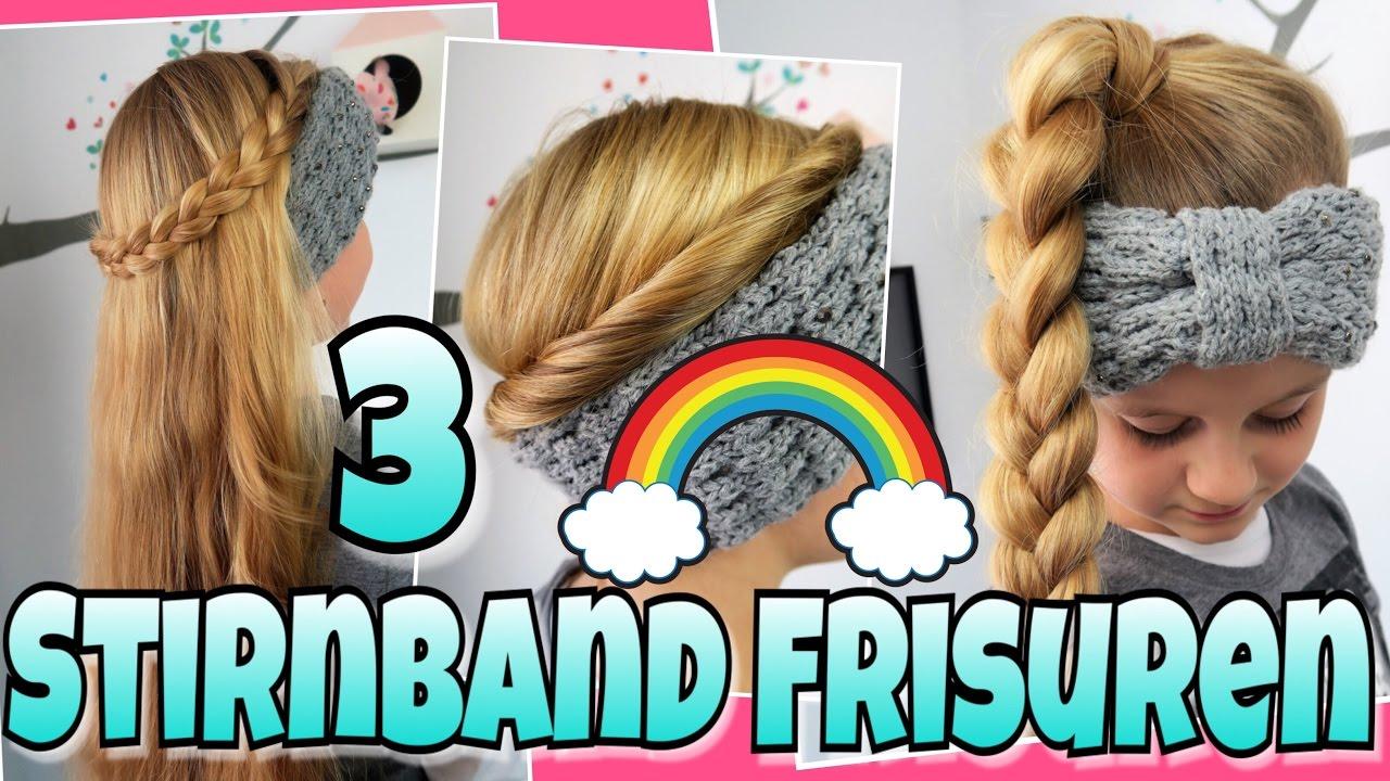 3 Stirnband Frisuren Coole Madchen Zopfe Frisuren Youtube
