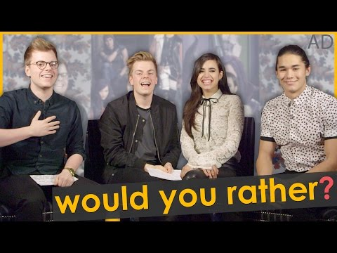 WOULD YOU RATHER?? #ad | NikiNSammy