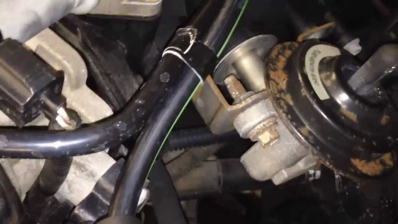 2002 Ford Escape Exhaust Diagram Ceiling Fan Light Wiring One Switch 3 0l V6 Engine Vacuum Leak Testing Youtube