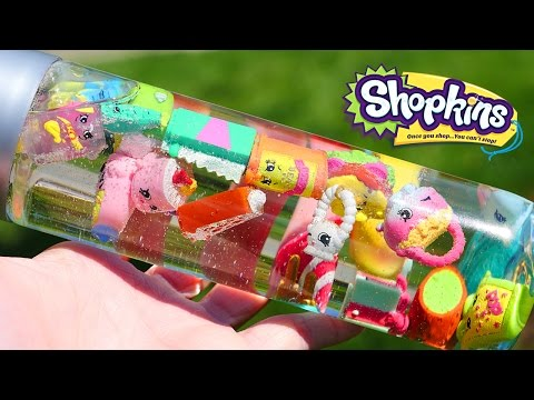 DIY Shopkins Sensory Relaxation Bottle | Fun Shopkins Crafts Ideas for Kids from DCTC
