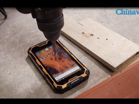 Super Conquest S8 Pro Rugged Smartphone Test Review