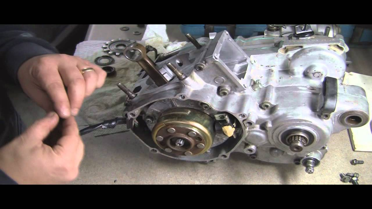Yamaha Blaster Engine Wiring Yz125 Part 13 2 Stroke Stator Flywheel And More Youtube