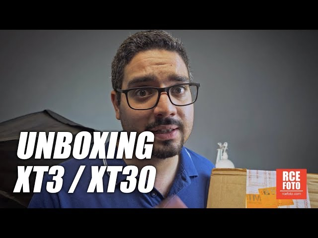Luca Auletta - unboxing Fuji XT3 - XT30
