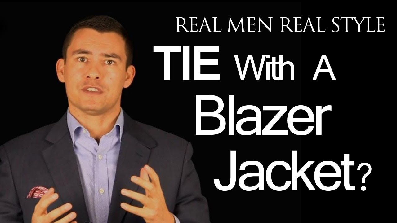 Navy Blazer Jackets & Neckties - Does A Man Need A Tie With A ...