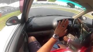 M7 Drive Track Day With Proton Waja 1.6 NA 1 May 2016 Yokendra Nanthasuthan Run