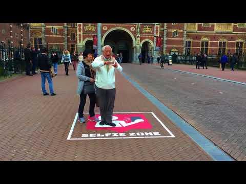 Selfie Zone in Amsterdam