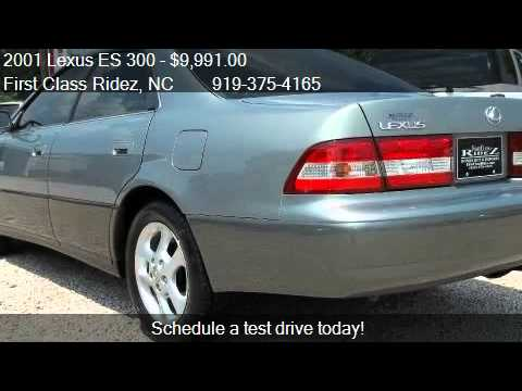 2001 lexus es 300 for sale in zebulon nc 27597 youtube. Black Bedroom Furniture Sets. Home Design Ideas