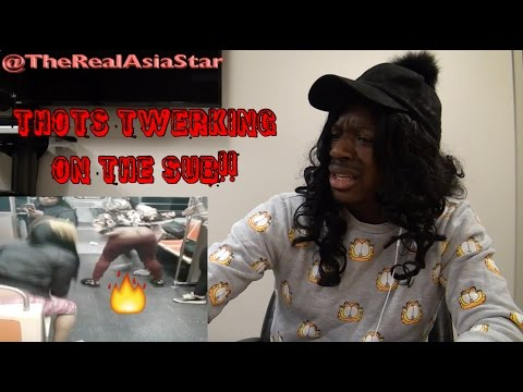 Asia Star - THOTS twerking on the train (Orange Line edition)
