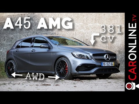 MERCEDES A45 AMG 2016 - 4 cilindros e 2.0L mais POTENTE do MERCADO! [Review Portugal]