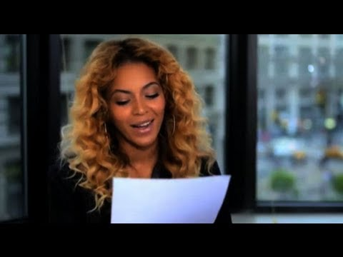 Beyonce's Letter to First Lady Michelle Obama