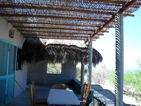 Palapa palo de arco avi youtube for Arco decorativo jardin