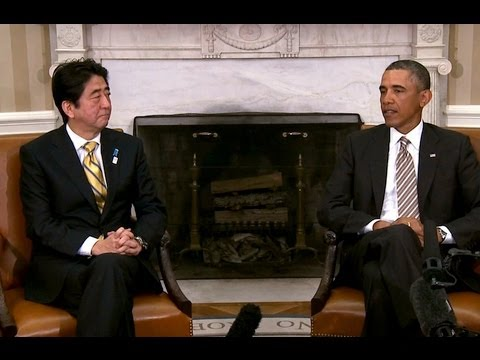 President Obama's Bilateral Meeting with Prime Minister Abe of Japan