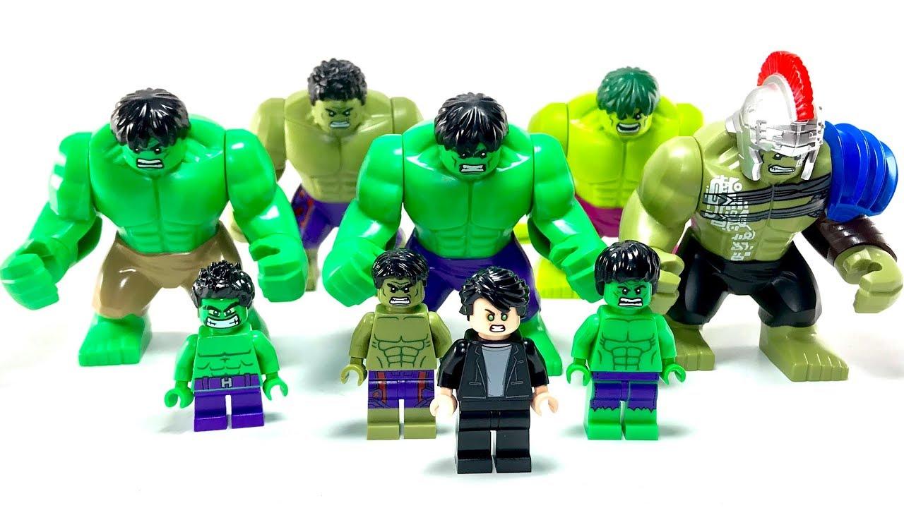 Lego Hulk Ausmalbilder Foto: Lego Bruce Banner Hulk