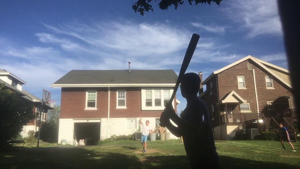 Backyard Wiffle Ball League (game 1) - YouTube