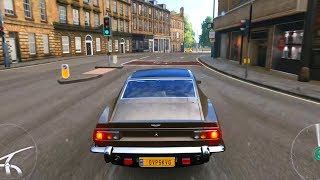 Forza Horizon 4 - Aston Martin V8 1986 (James Bond) - Open World Free Roam Gameplay HD