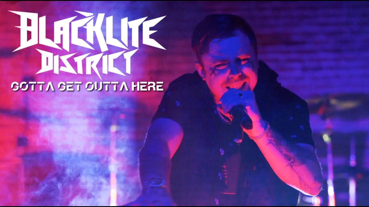 Blacklite District - Gotta Get Outta Here (Official Music Video)