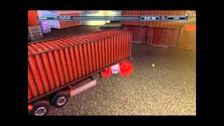 Truck & Trailer - Überfülltes Fabrikgelände