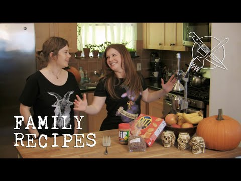 Family Recipes with Allison and Sarah - Granny's Un-Nameable Cookie
