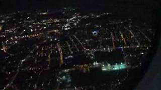 atterraggio notturno a Roma Ciampino (er mejo)