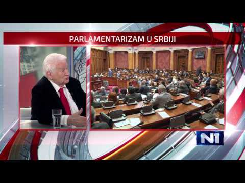 Dan uzivo/ Dragoljub Micunovic o radu parlamenta/ 16.5.2017.