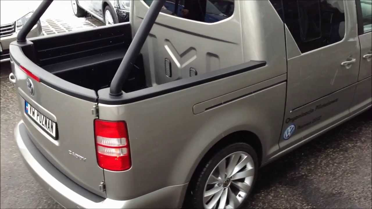 volkswagen caddy pickup r32 prototype sound youtube. Black Bedroom Furniture Sets. Home Design Ideas