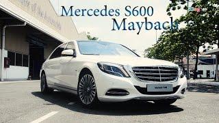 Trải nghiệm Mercedes S600 Maybach màu trắng