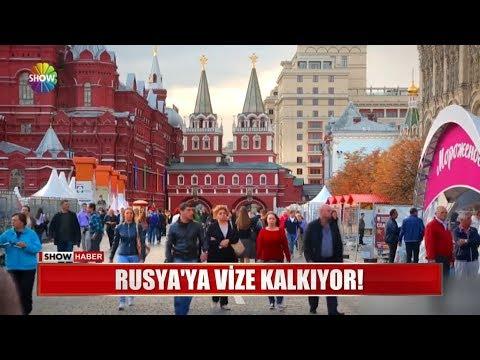 Rusya'ya vize kalkıyor!