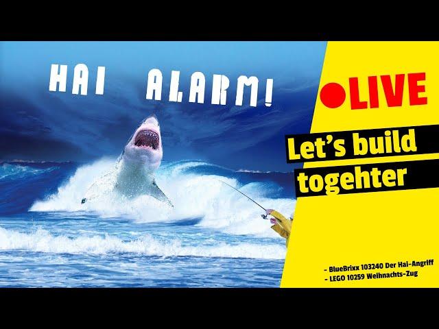 🔴 LIVE Let's build togehter   Hai-Alarm im Weihnachtszug ?! Was?