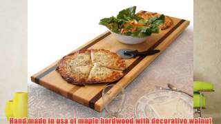 Tableboards By Spinella Tbl1 Large Cutting Board Serving Tray Hot Plate-all In One! Walnut