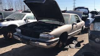 AWESOME condition 1994 Buick Park Avenue in the junk yard