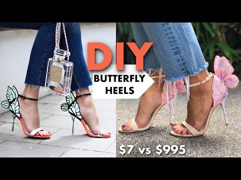 DIY: How To Make The BUTTERFLY Heels (The REAL Way!!) -By Orly Shani