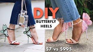 dIY, How to make shoes for a doll. Как сделать туфли для куклы