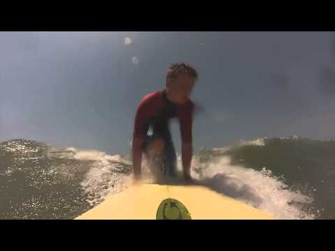 Surfing on Isle of Palms