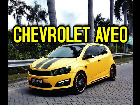 Modifikasi Chevrolet Aveo Gaul Sekali Youtube