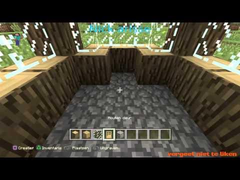 Hoe maak je een piston op minecraft