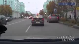 интересные дтп с видеорегистраторов 18+ 224 Car crash compilation Подборка Аварии И ДТП 2013