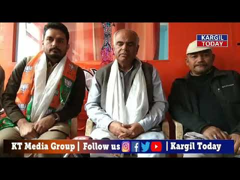 Ashok Koul State Org Secretary BJP addressed Media | Kargil Today