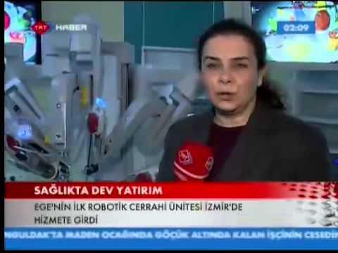 TRT Haber - Da Vinci Robot Ege Üniversitesi