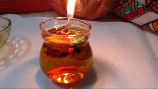 Make Beautiful Water Candles For Diwali | How To | CraftLas