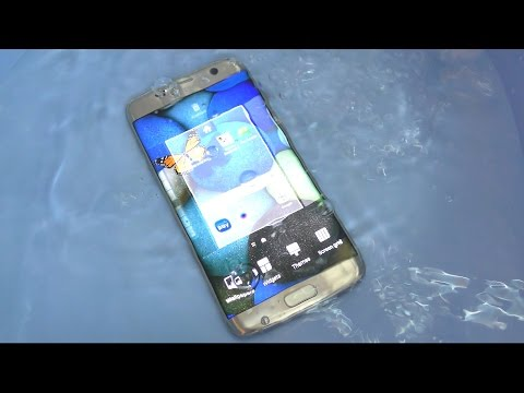 Samsung Galaxy S7 Edge - Water Test (4K)