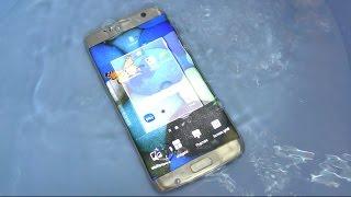 Samsung Galaxy S7 Edge - Water Test (4K)