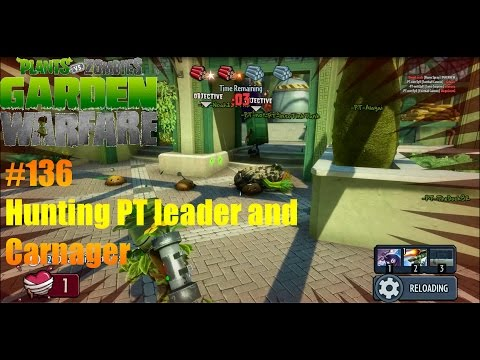 Plants Vs Zombies : Garden Warfare - #136 Hunting Leader