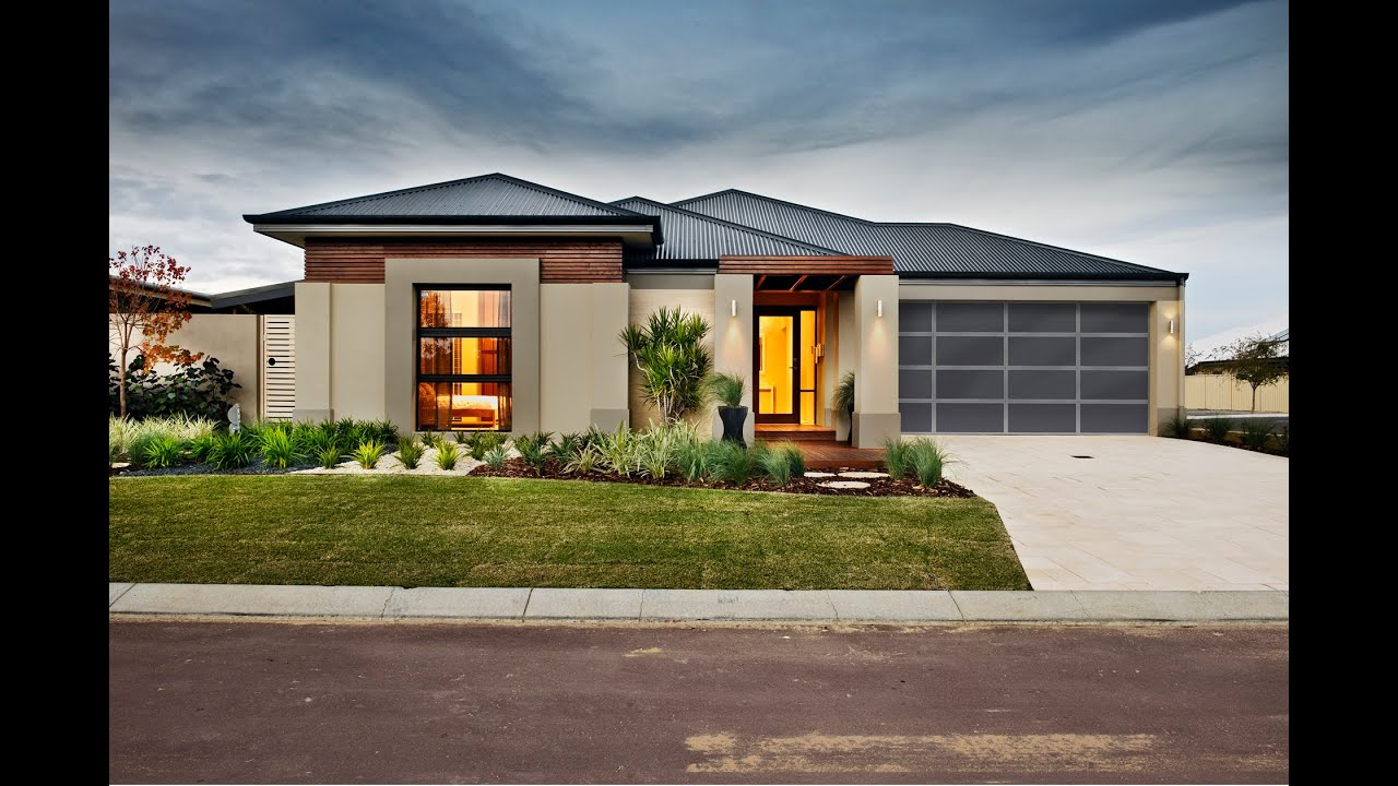 Seiiki - Modern New Home Designs - Dale Alcock Homes - YouTube on Modern House Ideas  id=39855