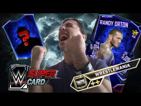 RANDY ORTON PRO! PESCO UNA WRESTLEMANIA!! - WWE SUPERCARD
