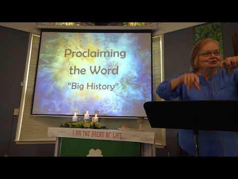 "June 6, 2021 ~ Rev. Julia Price ~ ""Big History"""
